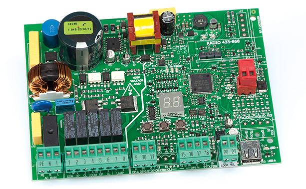 Schema Elettrico Scheda Faac 450 Mps : Faac e scheda elettronica — faa elettroonline