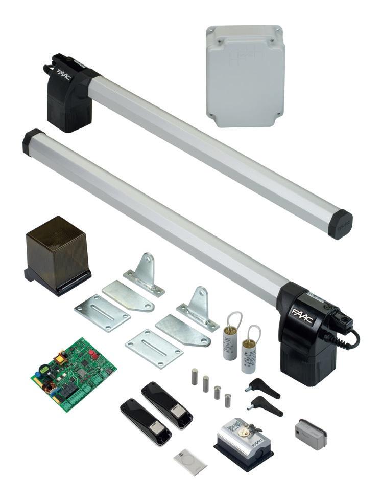 Faac eco kit automazione elettromeccanica 230v for Faac eco kit