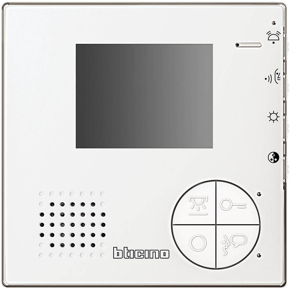 Bticino 365511 kit monofamiliare videocitofono e for Costo videocitofono