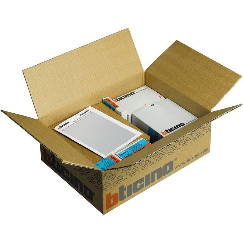 Bticino 360000 1 2 kit per la citofonia condominiale for Videocitofono condominiale