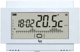 Came bpt th 500 wh wifi cronotermostato touch screen for Cronotermostato bpt 124