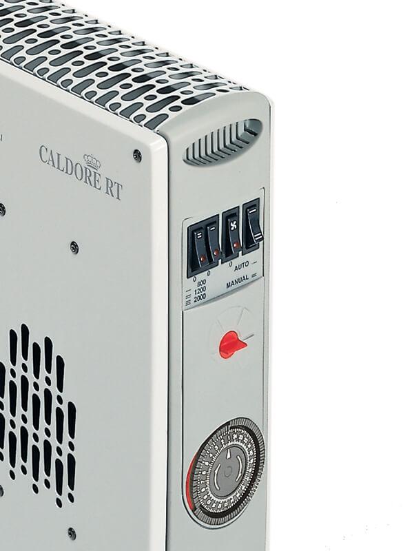 Vortice 70221 termoventilatore caldore rt con for Spegnimento riscaldamento 2017