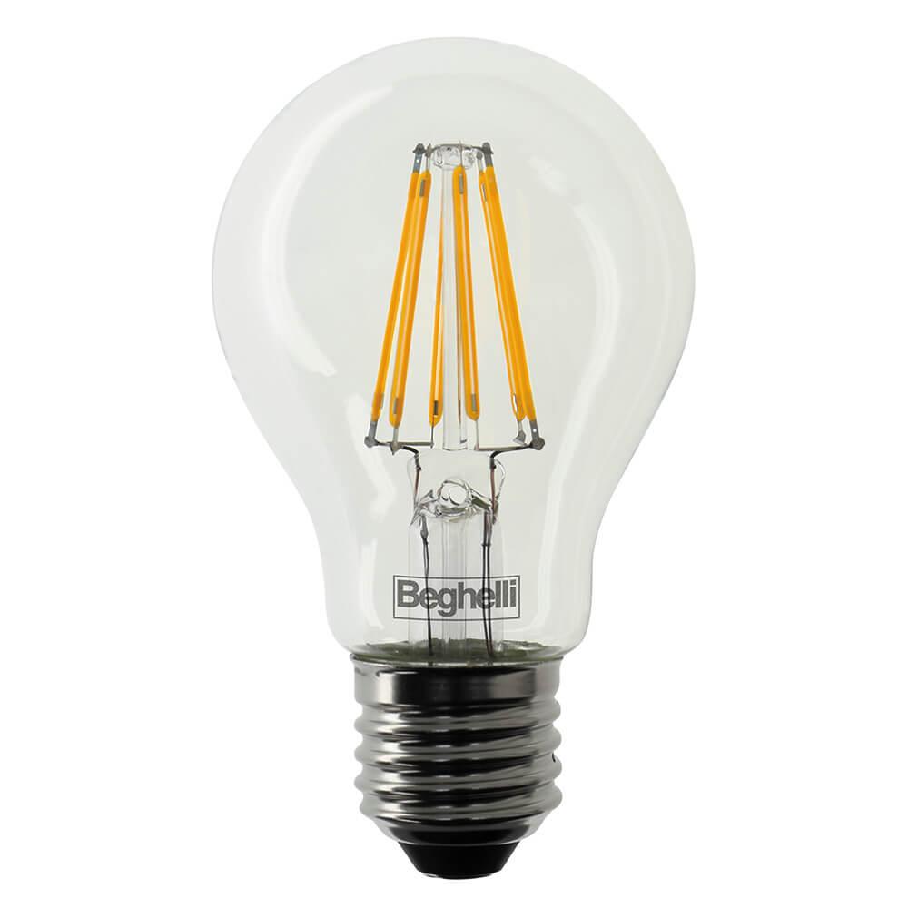 Beghelli 56401 lampada zafiro led vetro trasparente a for Lampadine led costo