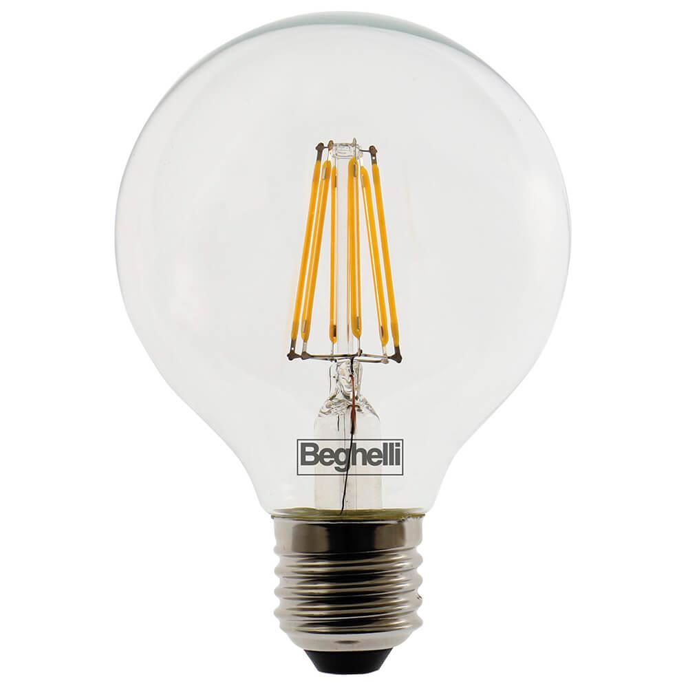 Beghelli 56441 lampada zafiro led vetro trasparente a for Lampadine led costo