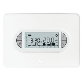Came bpt th 450 cronotermostato digitale a parete for Istruzioni termostato bticino