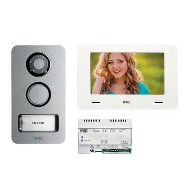 Schemi Elettrici Urmet : Urmet u kit videocitofono monofamiliare con dispositivo